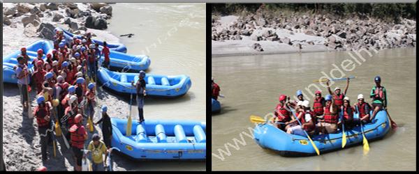 White Water Rishikesh River Rafting