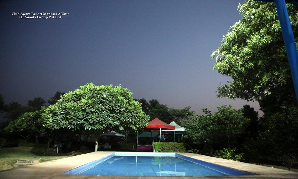 pool site party Club Awara Manesar Resort