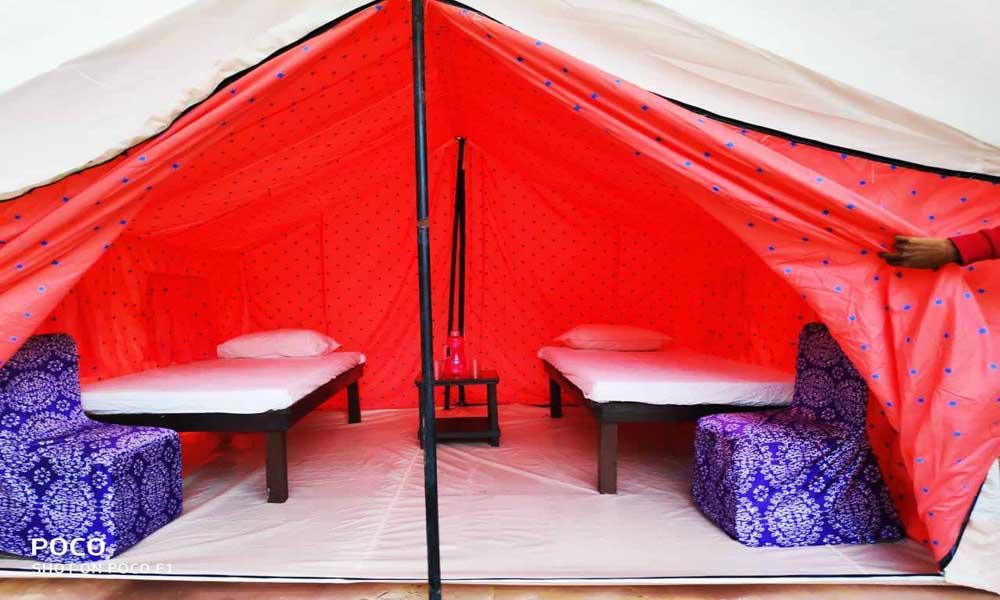 camping near gurgaon